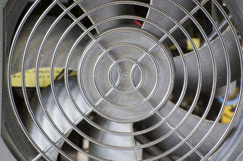 fan grid cooling