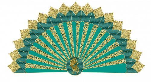 Fan, Clipart Oriental Fan