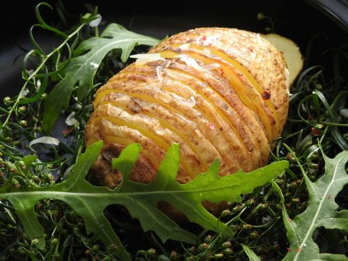 fan potatoes potatoes hasselback potatoes