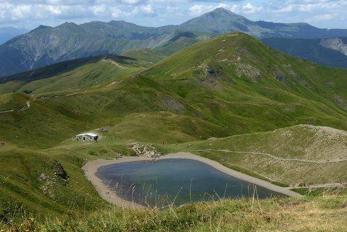 fanano modena  lake scaffaiolo  regional park of corno alle scale