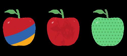 fancy apple fruit food