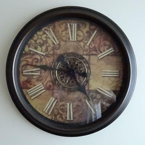 Fancy Clock On White Background