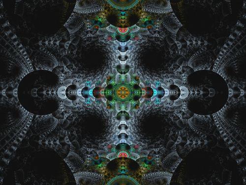 Fancy Fractal Background
