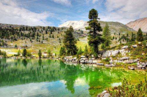 fanai,dolomitai,kalnai,kalnų peizažas,kraštovaizdis,fanes alm,žygiai,Alpių,Rokas,debesys,aukščiausiojo lygio susitikimas,saulėtas,vasara,Alp,South Tyrol