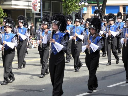 fanfare music parade