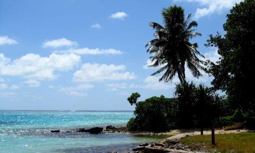 fanning island kiribati beach