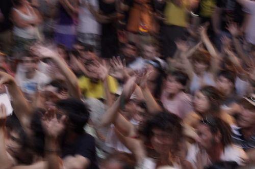 fans people fun