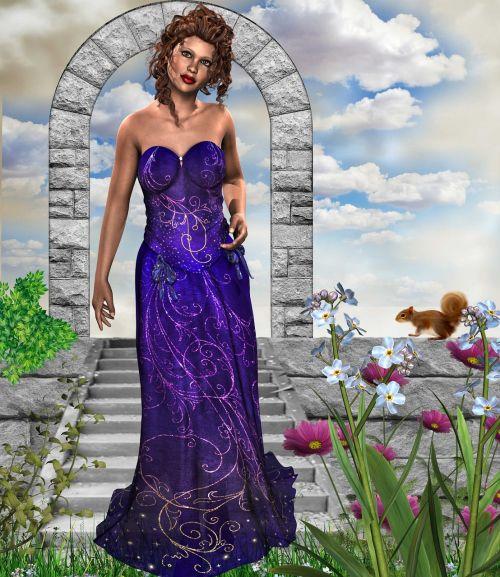 fantasy woman fairy