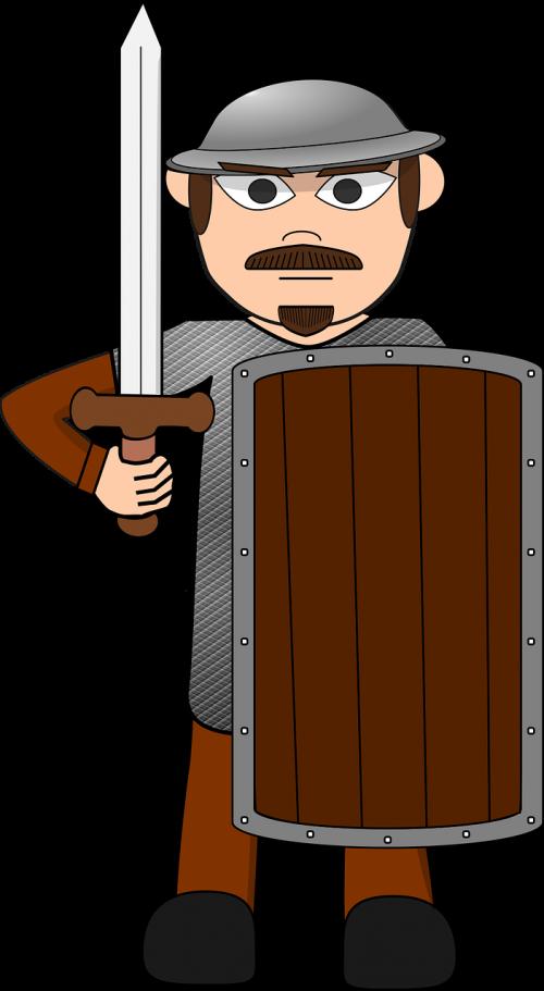 fantasy solider cartoon