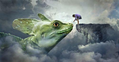 fantasy dragons lizard