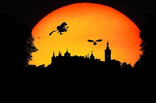 fantasy walpurgisnacht landscape