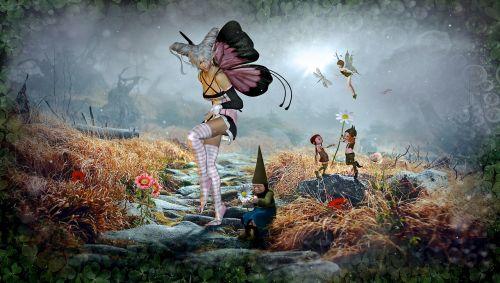 fantasy fairy tales elf