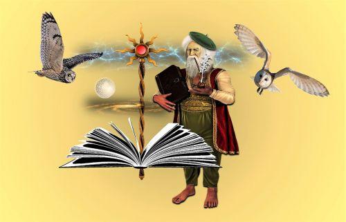 fantasy magic scepter
