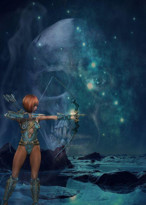 fantasy mystical warrior