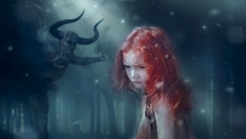 fantasy forest mystical