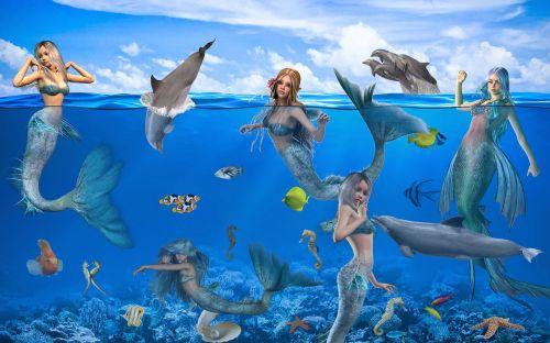 fantasy mermaids mystical