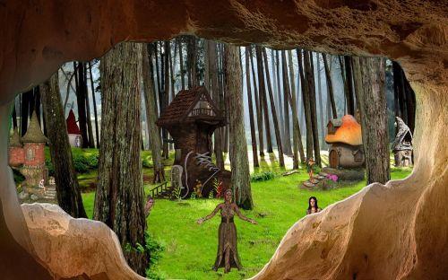 fantasy elves rock