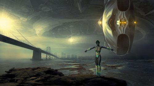 fantasy forward science fiction
