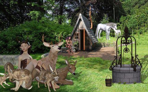 fantasy elves home