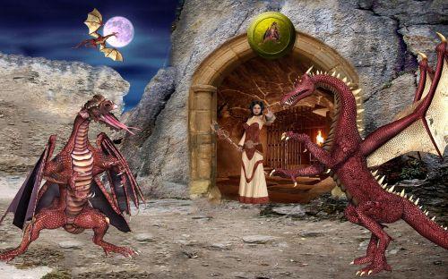 fantasy dragons dragon champion