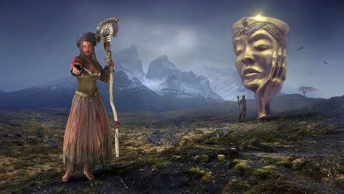 fantasy landscape mystical