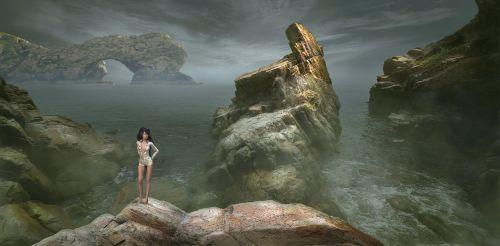 fantasy landscape mood