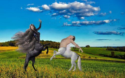 fantasy zentauer dance