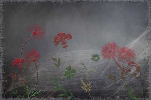 fantasy flourish digital artwork