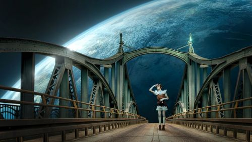 fantasy bridge planet