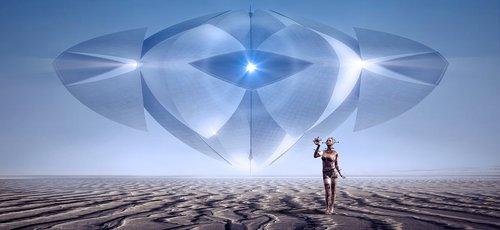 fantasy  scifi  spaceship