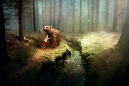 fantasy  bear  child