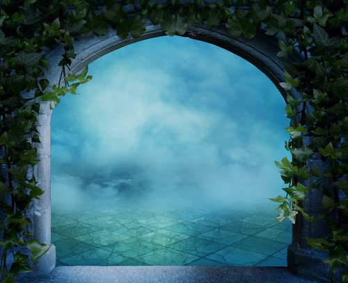 fantasy  background image  arch