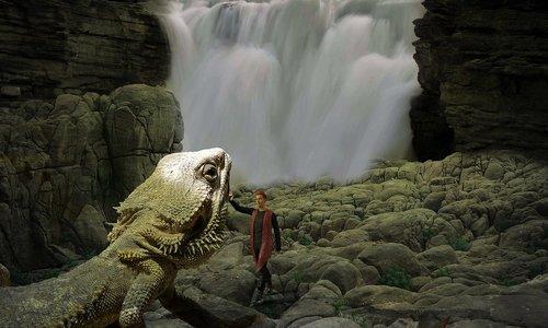 fantasy  lizard  man