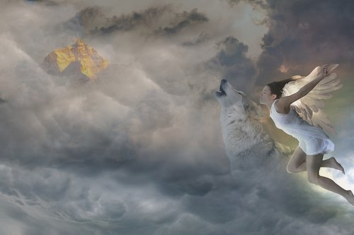 fantasy  spirituality  angel