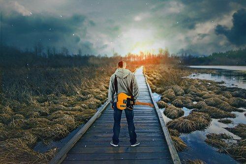 fantasy  lake  guitarist