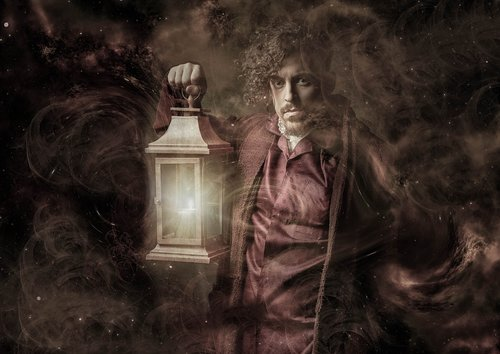 fantasy  mysticism  lamp