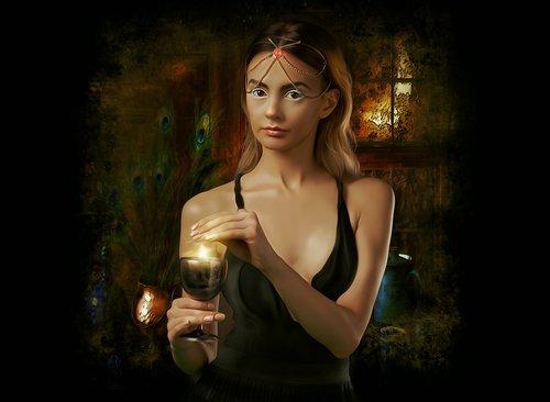 fantasy  portrait  fantasy portrait