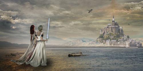 fantasy composing photoshop