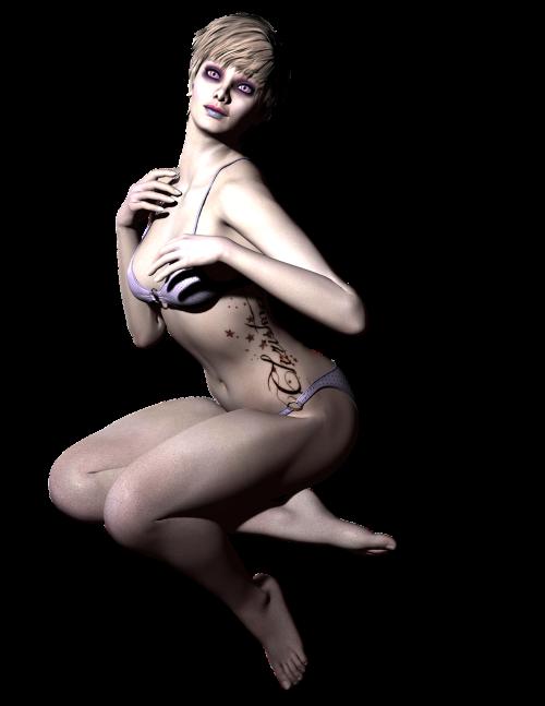 fantasy woman 3d