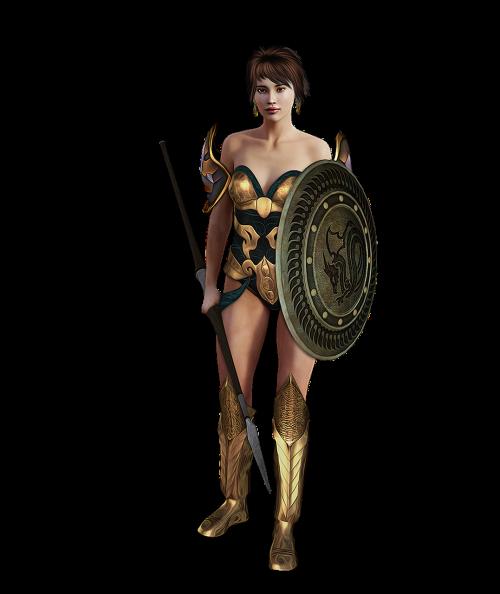 fantasy warrior woman female
