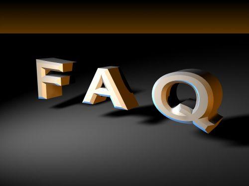 faq puzzle letters