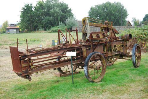 farm combine farm equipment