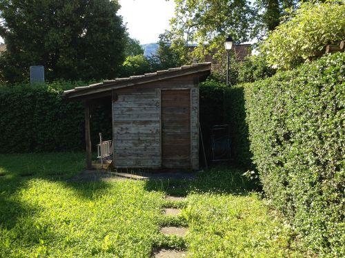 farm green cabin