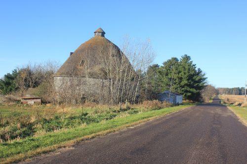 farm barn round barn