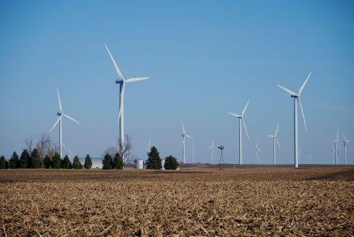 farm wind machines wind turbines