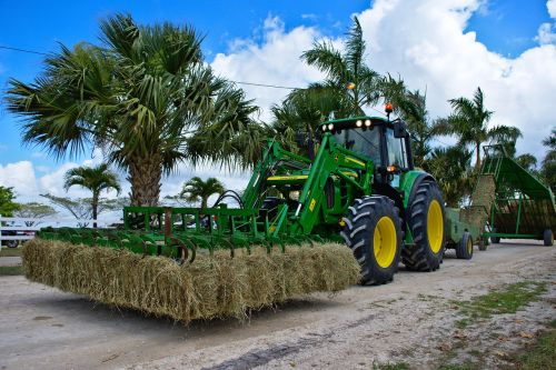 farm equipment tractor hay