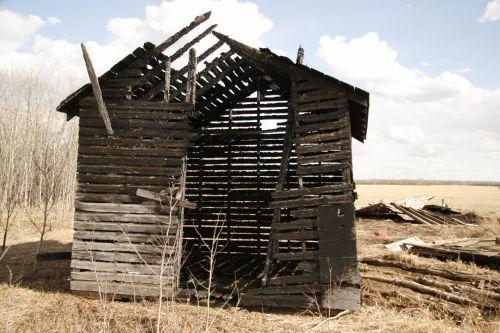 Farm Granary Burnt