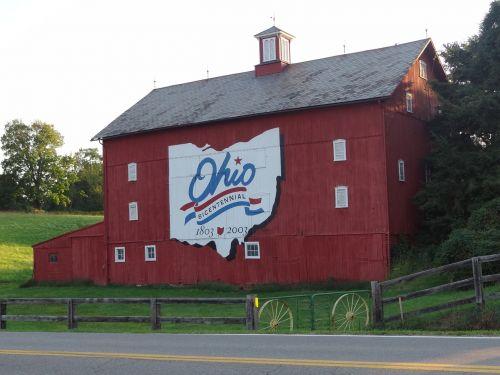 farm house country views red barn