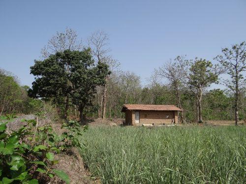 farm hut highway road