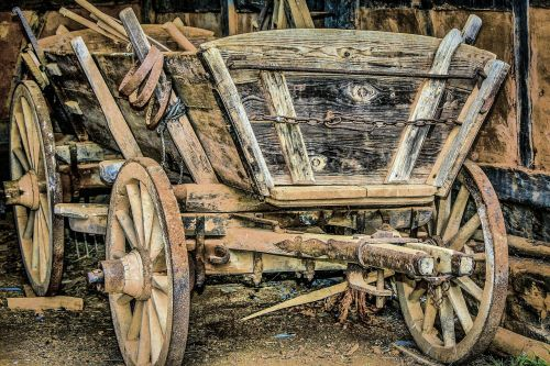 farm wagon antique harvest wagon